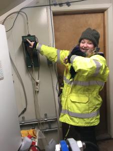 Traineeportrett: Caroline Hauge Hils på vår trainee hos ROAF!