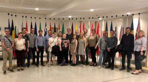 Studietur til Brüssel Vi har vært på en lærerik og hyggelig studietur til Brüssel!